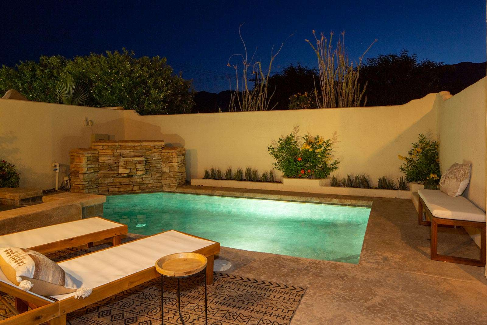 pool-with-mountain-views-night